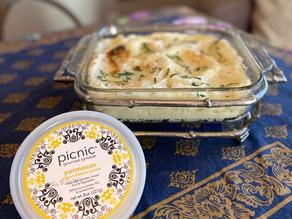 Make-Ahead Parmesan Mashed Potatoes