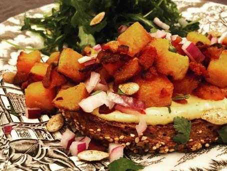 Sweet & Spicy Tartine