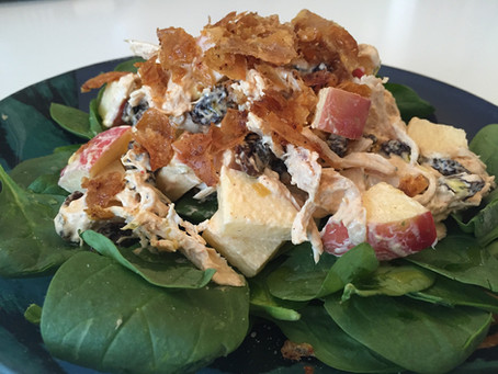 Crazy Simple Apple Tandoori Salad