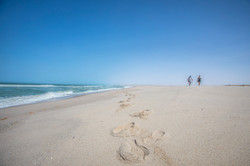Le Palais Rhoul Dakhla | hotel spa | Marche sur la plage