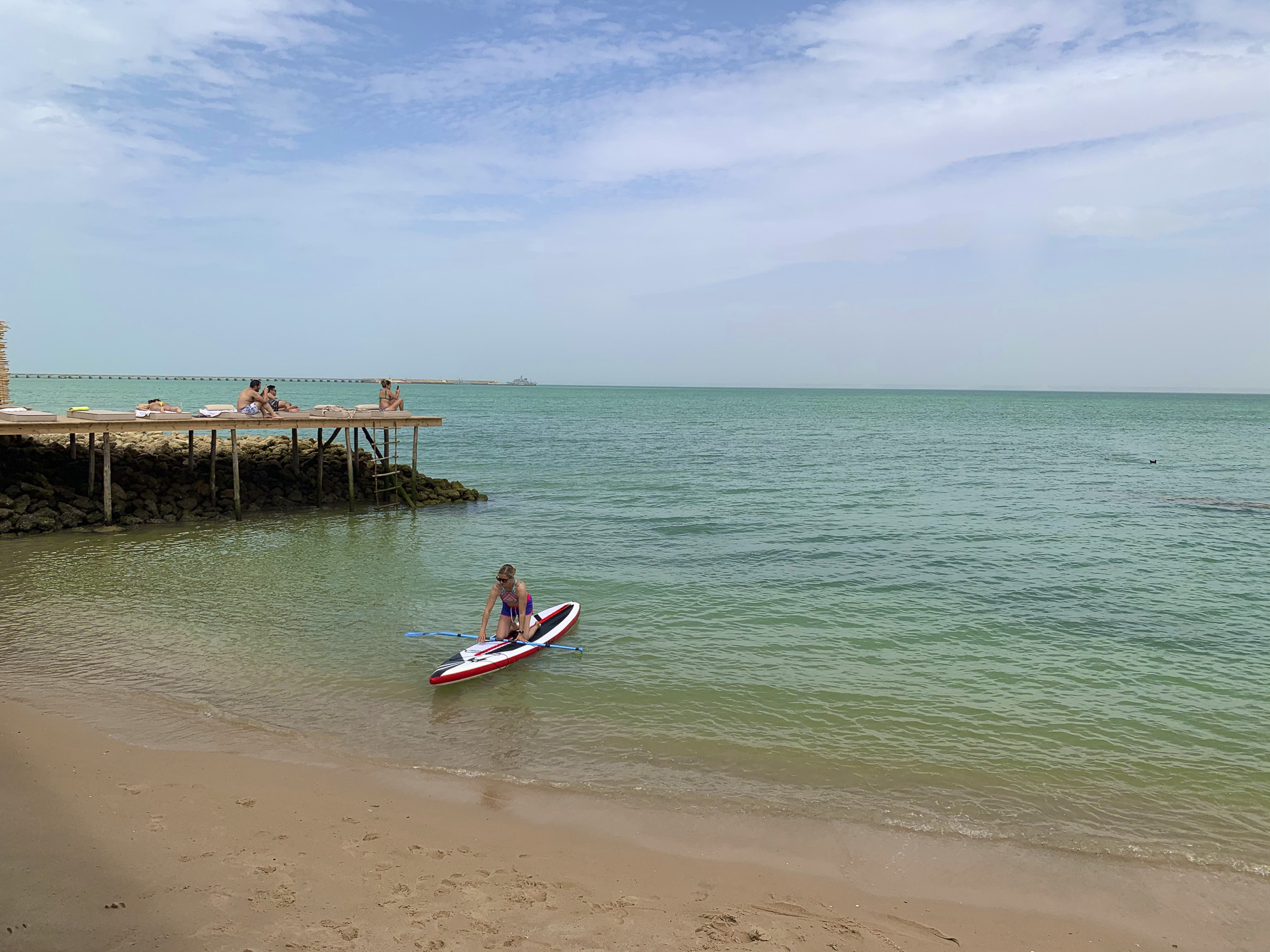 Le Palais Rhoul Dakhla | hotel spa | stand up paddle face sur la mer