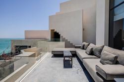 Le Palais Rhoul Dakhla | hotel spa | Salon d'extérieur