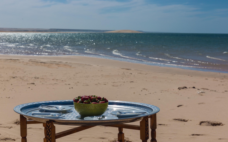 Le Palais Rhoul Dakhla | hotel spa | pique nique dune blanche
