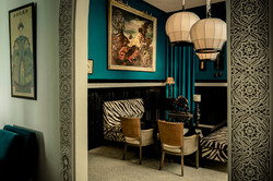 Le Palais Rhoul Dakhla | hotel spa | Salon cage a oiseau