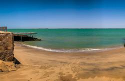 Le Palais Rhoul Dakhla | hotel spa | Plage crique sur la mer privée