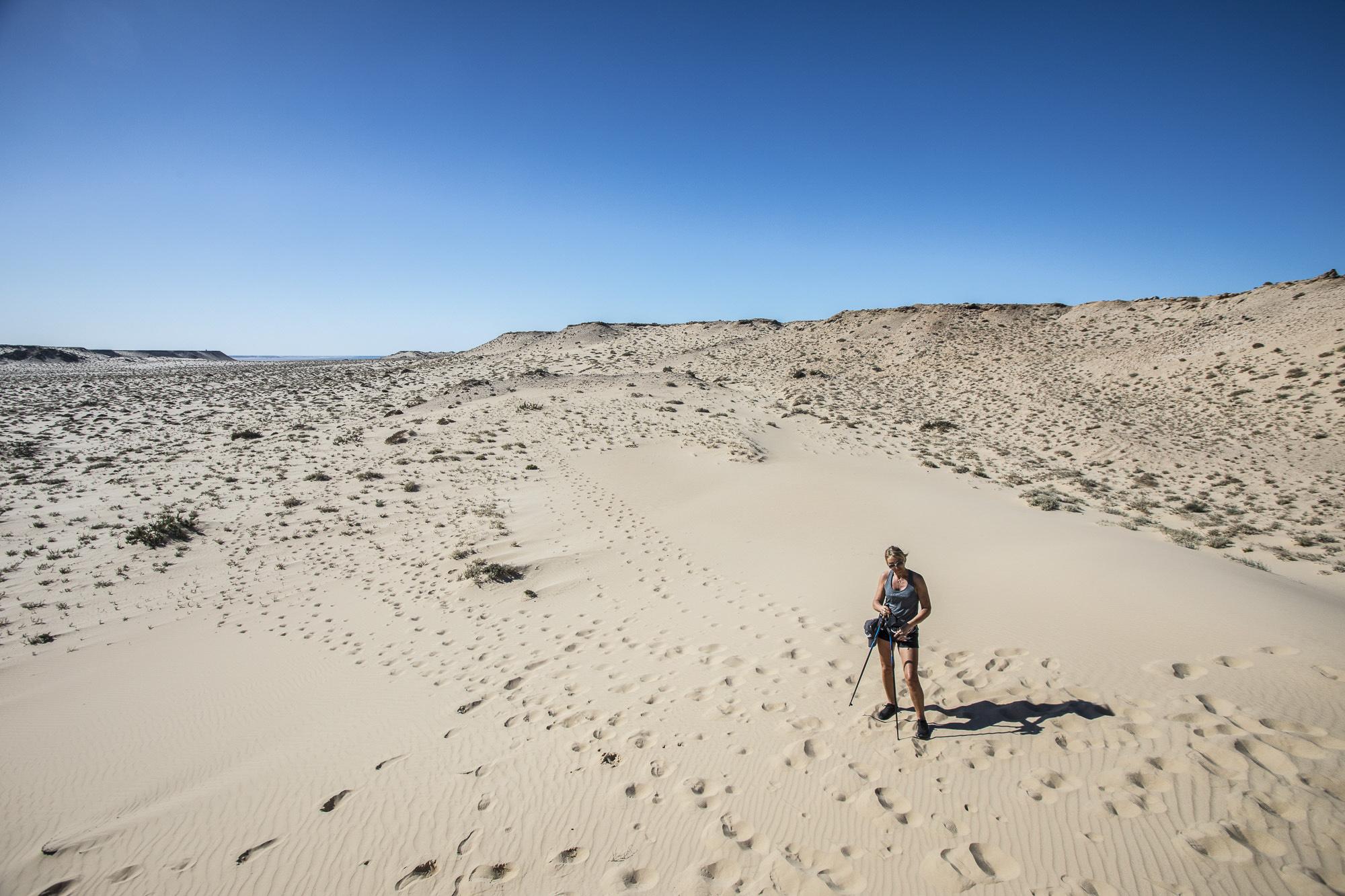Le Palais Rhoul Dakhla | hotel spa | Marche Nordique désert