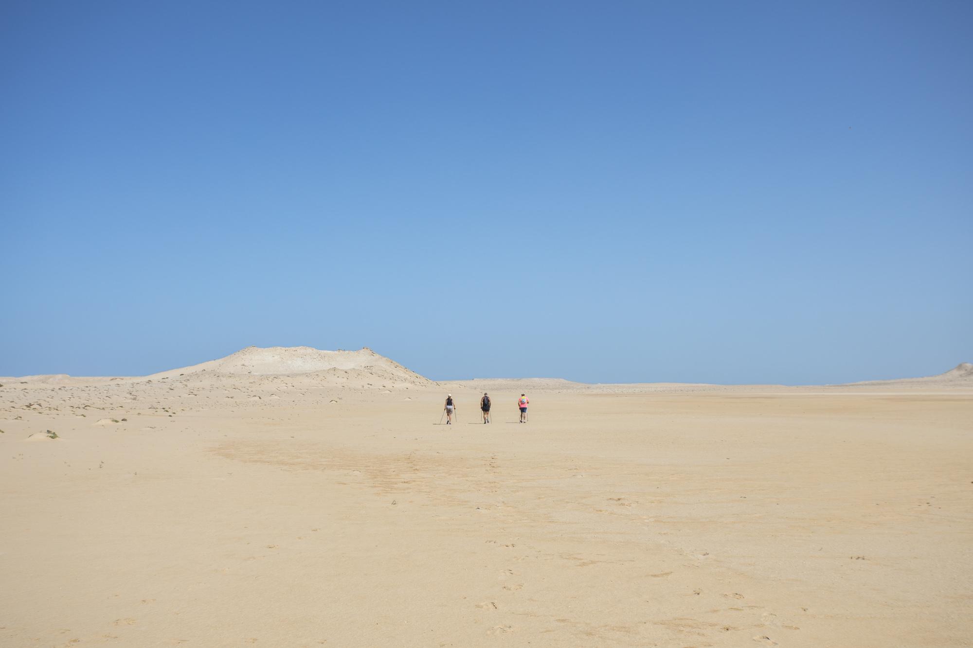 Le Palais Rhoul Dakhla | hotel spa | Marche Nordique le désert