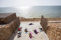 Le Palais Rhoul Dakhla | hotel spa | Yoga et happy detox