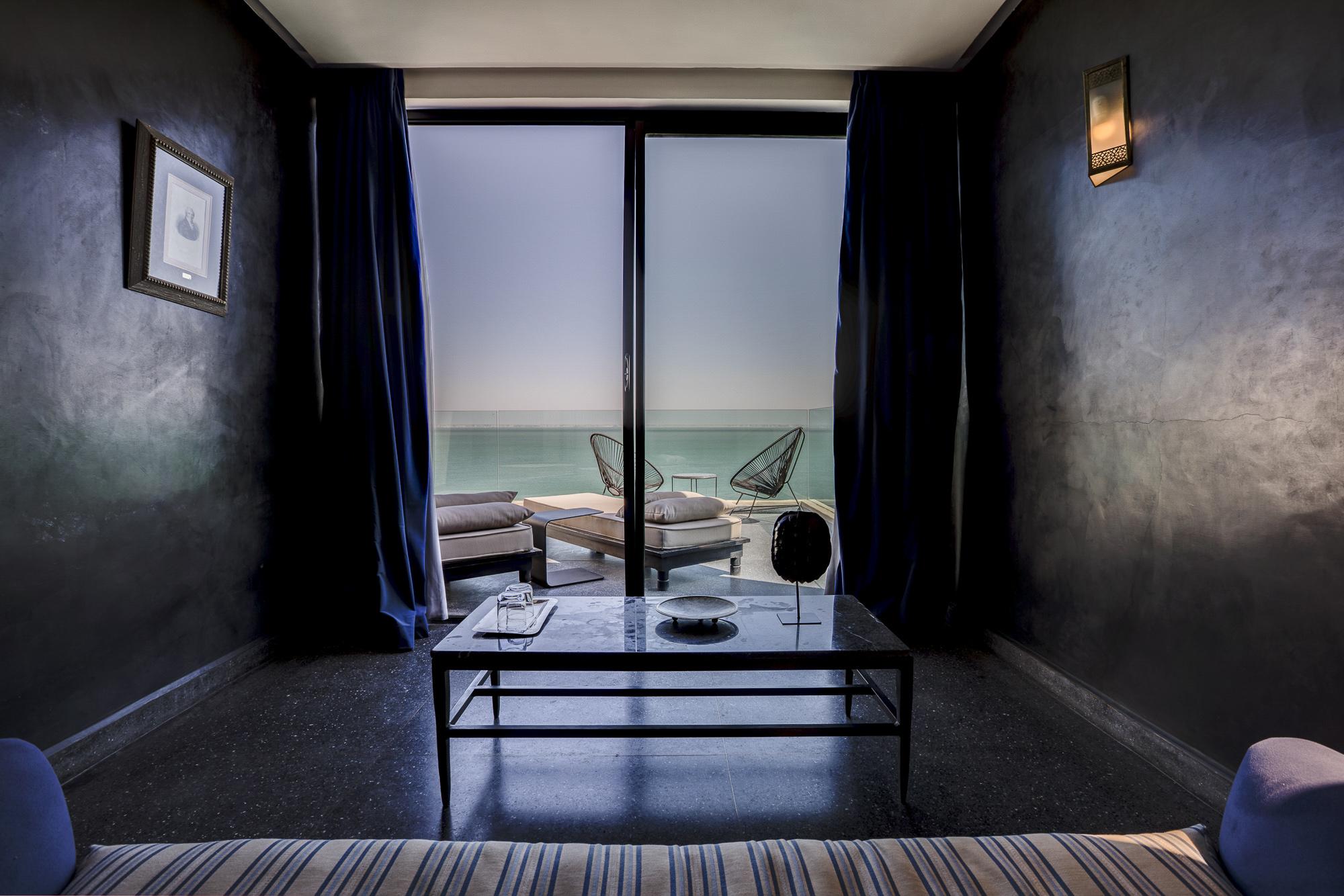 Le Palais Rhoul Dakhla | hotel spa | salon suite junior vue lagon