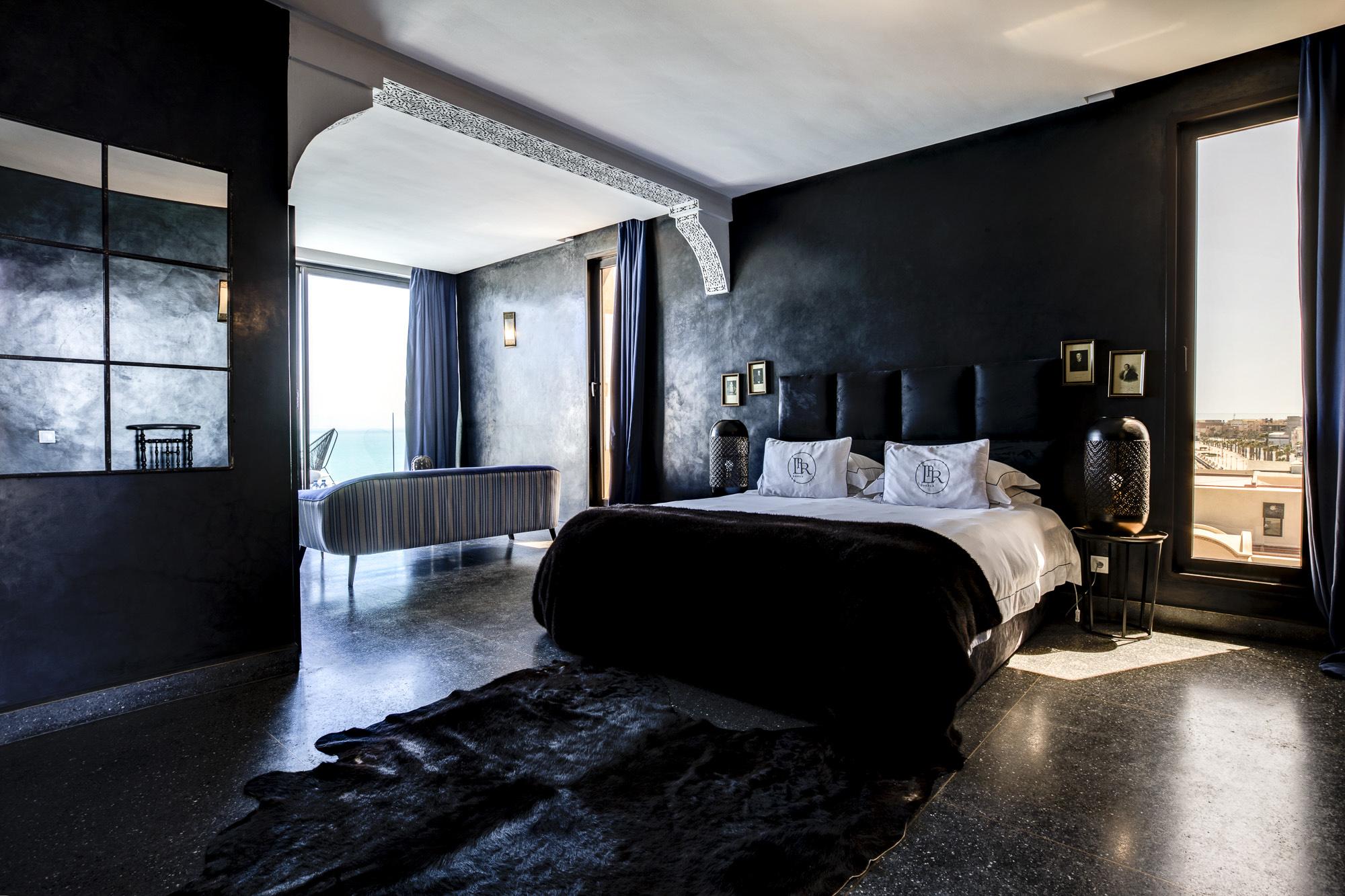 Le Palais Rhoul Dakhla | hotel spa | lit suite junior vue mer