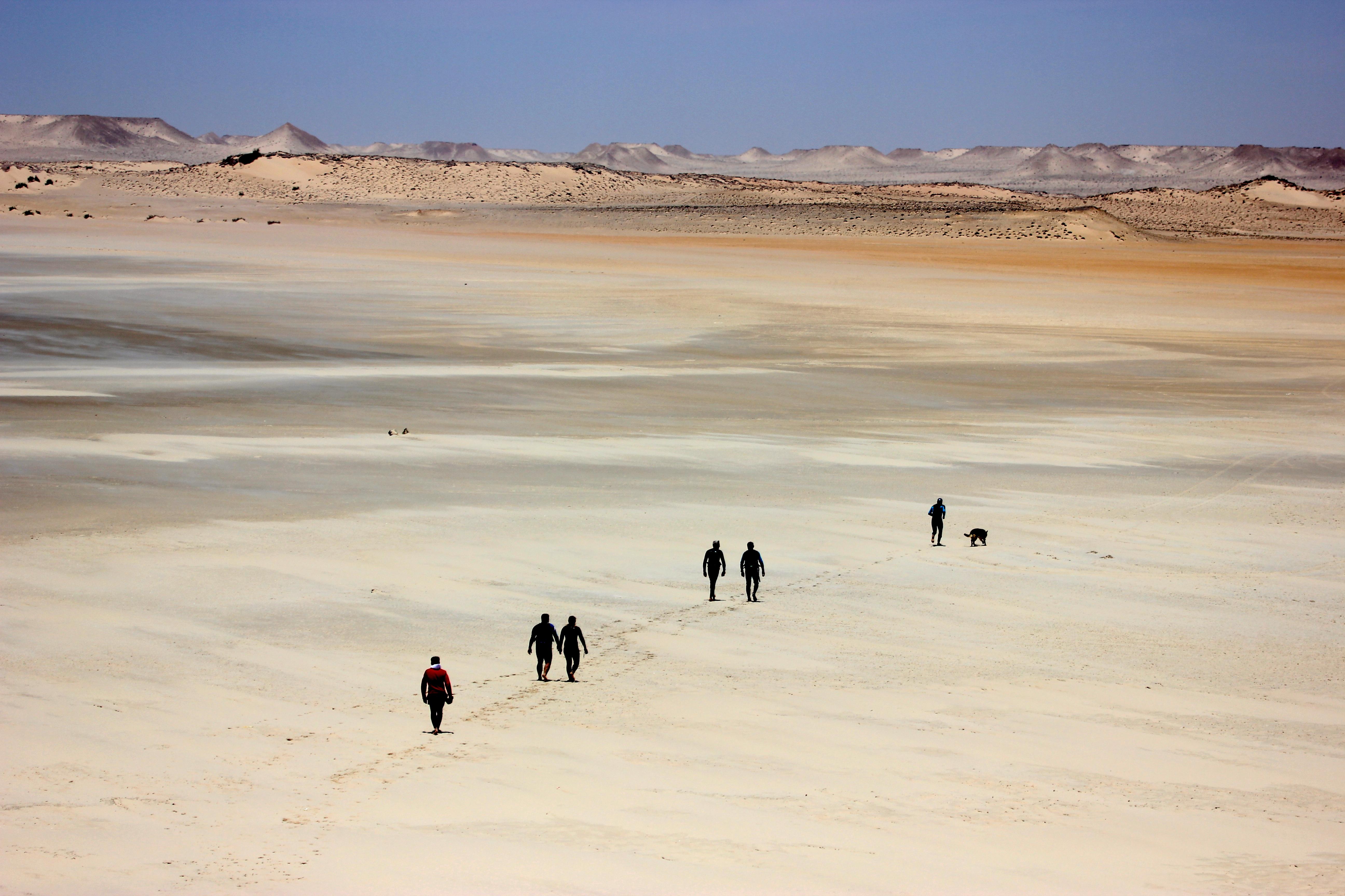 Le Palais Rhoul Dakhla | hotel spa | Marche Nordique dune blanche
