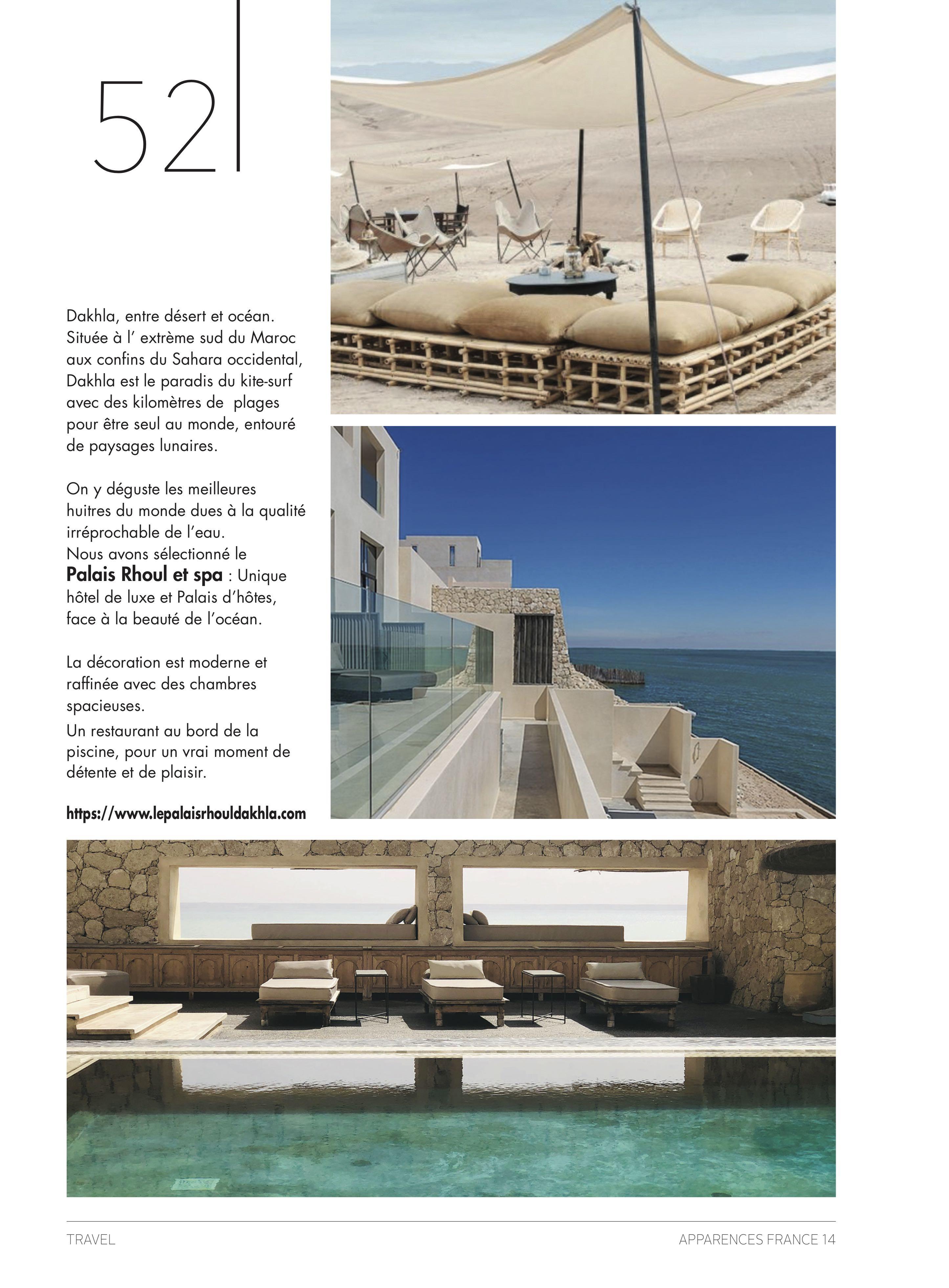 Le Palais Rhoul Dakhla | hotel spa