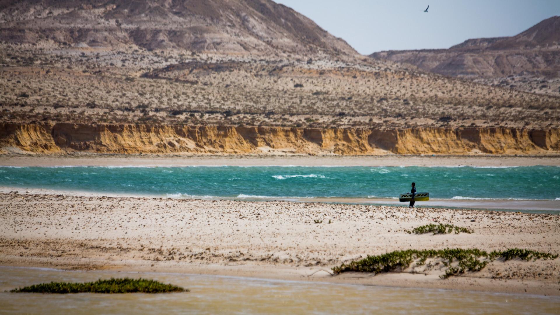 Kitesurf avec kite luxe à dakhla