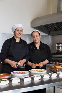 Le Palais Rhoul Dakhla | hotel spa | Les cuisinières