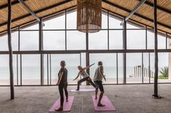 Le Palais Rhoul Dakhla | hotel spa | Yoga en cour privé