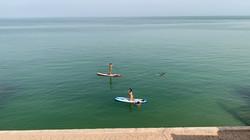 Le Palais Rhoul Dakhla | hotel spa | Standup paddle à partir de la maison