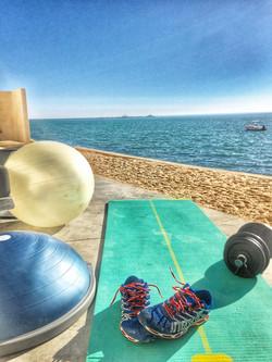 Le Palais Rhoul Dakhla | hotel spa | Fitness face a la mer