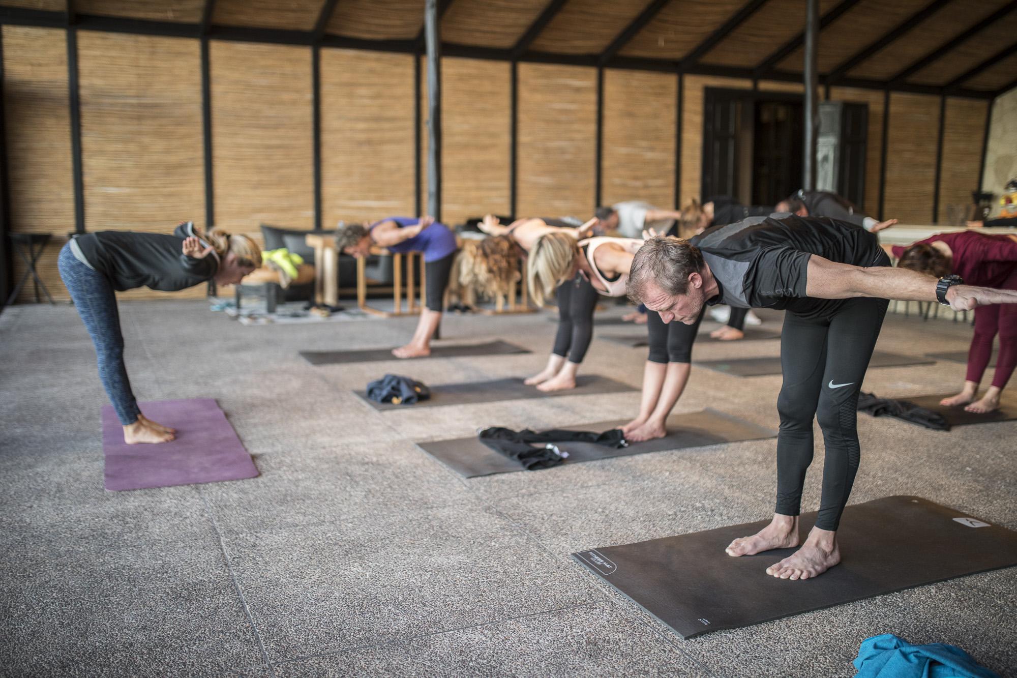 Le Palais Rhoul Dakhla | hotel spa | Yoga et paillote