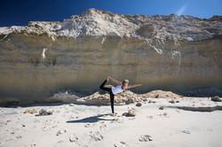Le Palais Rhoul Dakhla | hotel spa | Yoga dans le désert