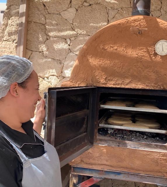 pain beldi four en terre