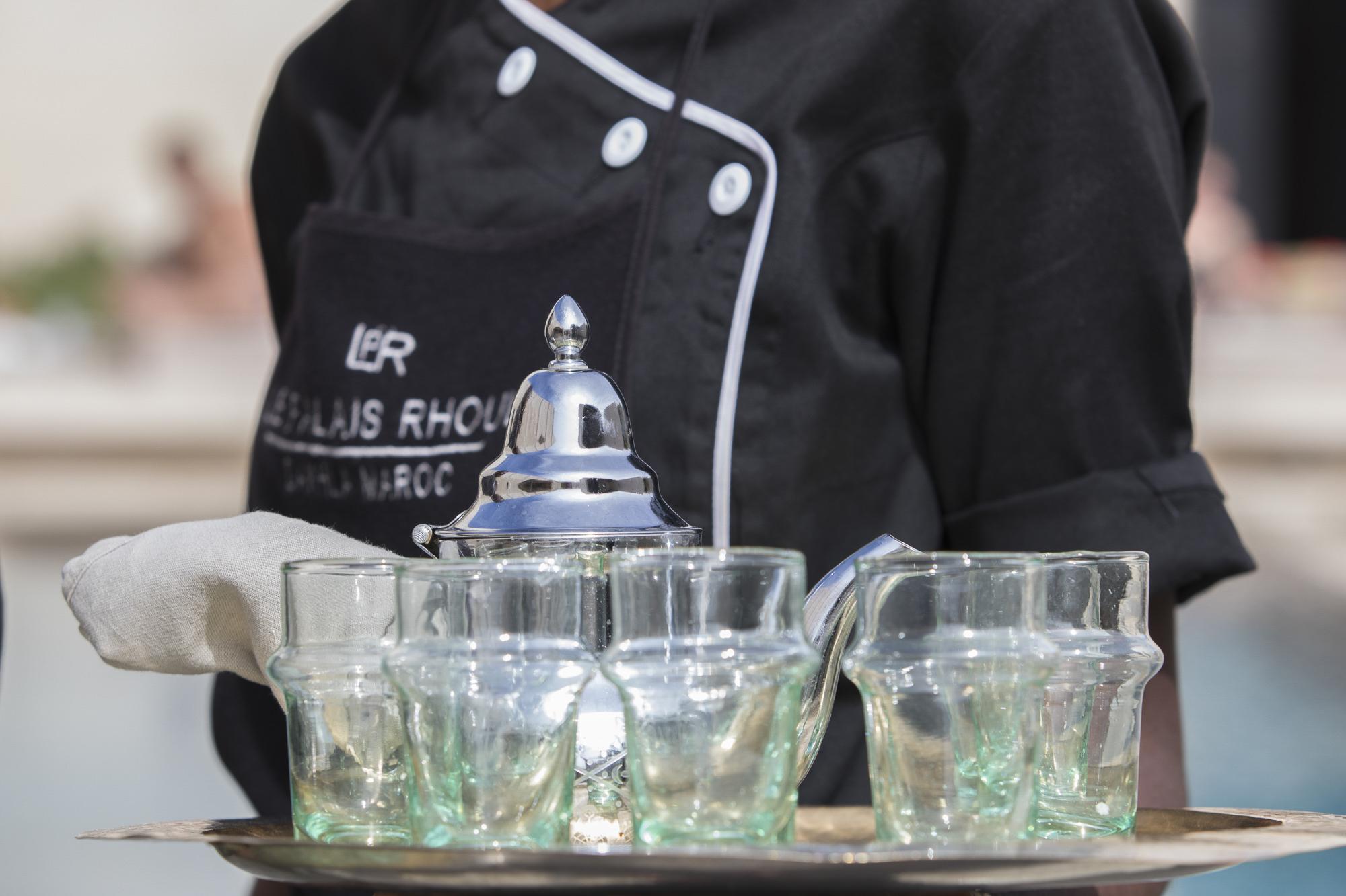 Le Palais Rhoul Dakhla | hotel spa | thé à la menthe