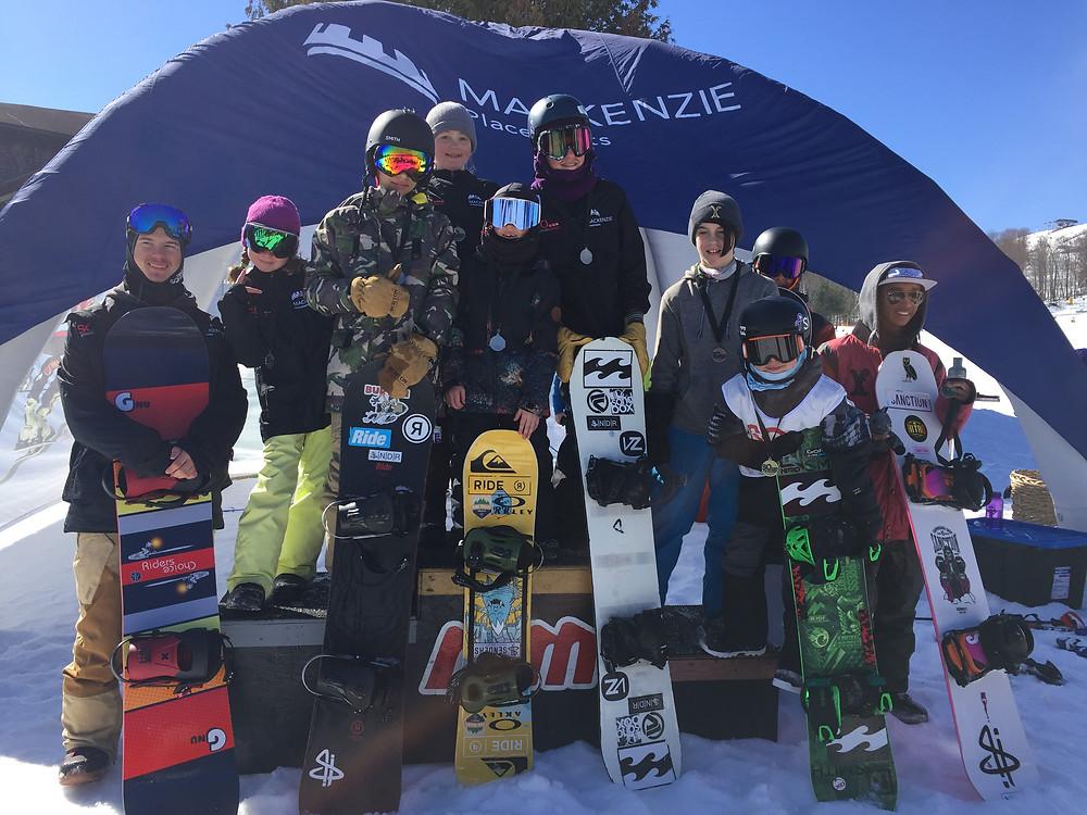 The Senders - Ontario Championships