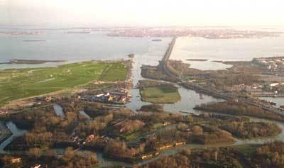 San Giuliano VE, Park birdview