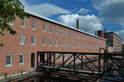 Lowell, MA Boot Mill south view
