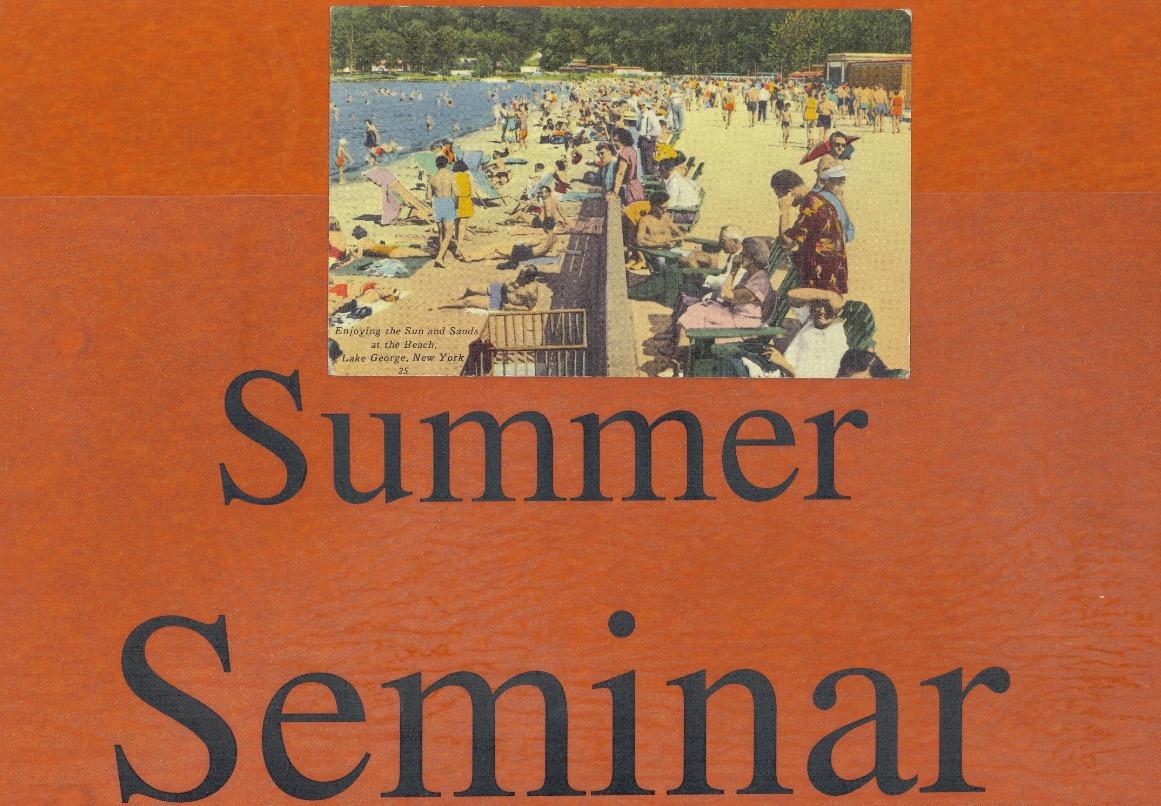 Summer Seminar - South Bronx Project