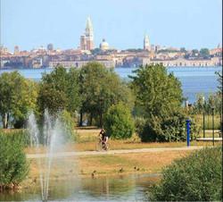 Park-San-Giuliano-Venezia-bike path