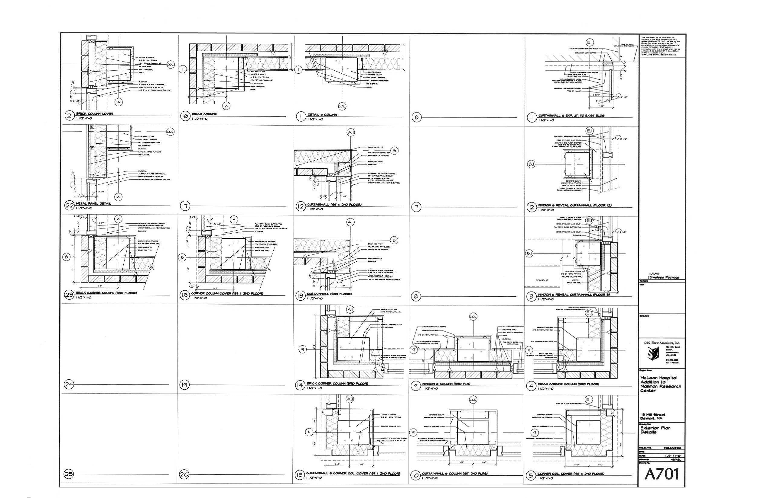 McClean Hospital Wall Details