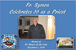Fr Symon's 30 Years as a Priest Dec, 201