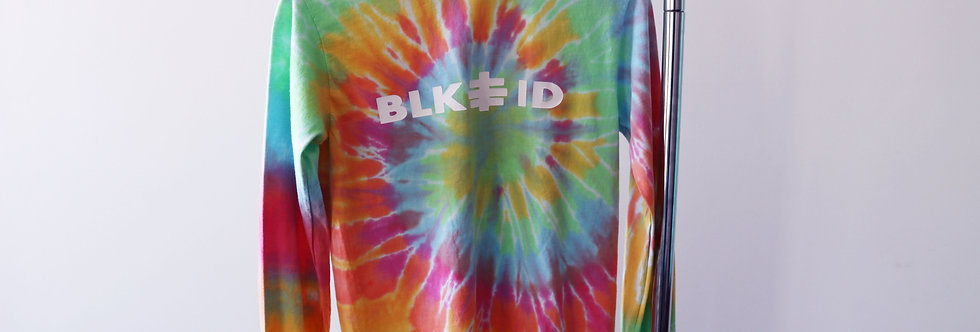 (BLK.ID STAMPED) Tye Dye Long sleeveT shirt