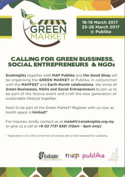 Green Market 2017 - Calling Vendors