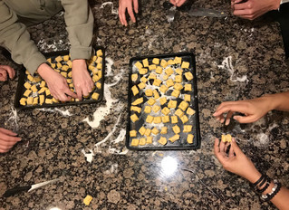 Sweet Potato or Squash Gnocchi - Yum!!
