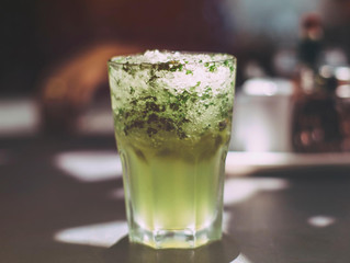 Cucumber Lime Mint Aqua Fresca
