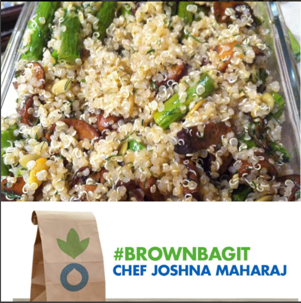 #brownbagit to end hunger in Canada