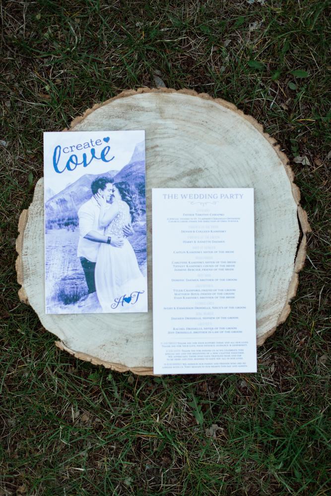 Calgary Custom Wedding Invitations