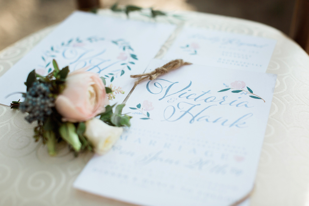 Calgary Wedding Invites Styled shoot