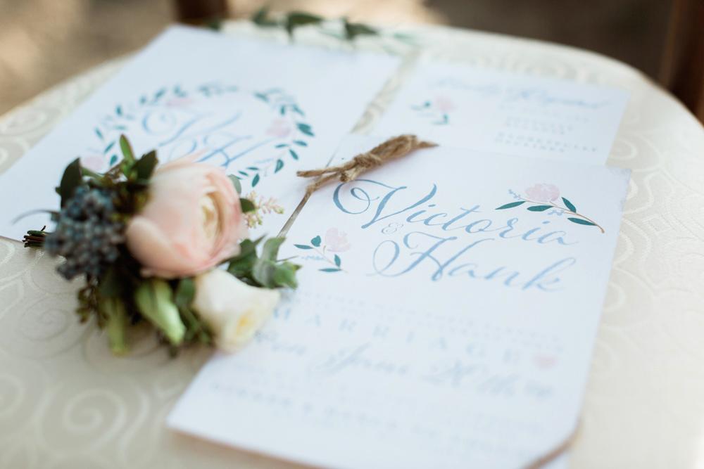 Calgary Wedding Invites Styled shoot