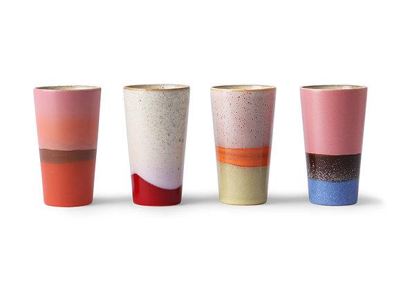 Latte mugs (set of 4)