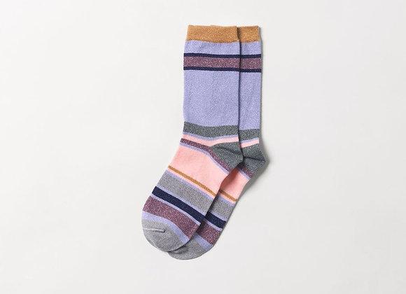 Rosella socks purple