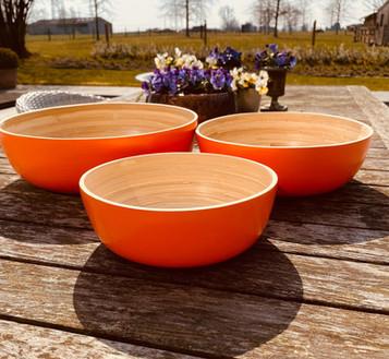Bamboo Set Orange