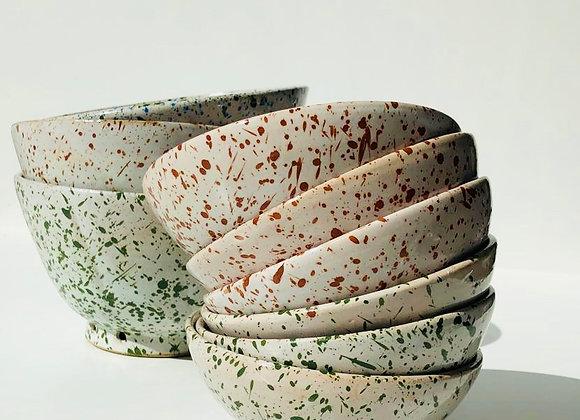 Bowl Paint Splash Medium