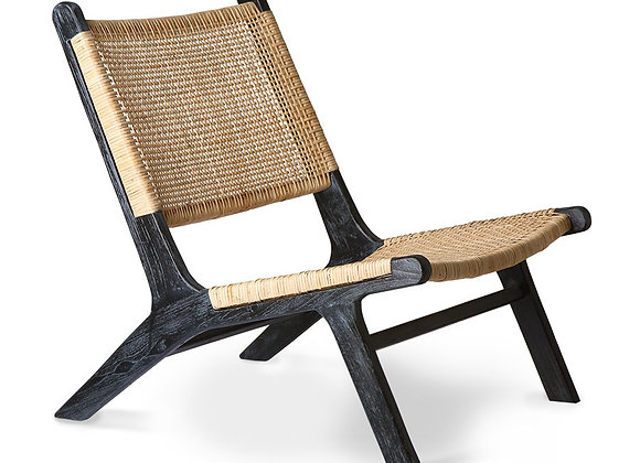 Lounge chair black
