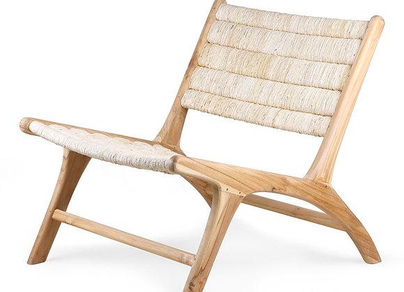 Lounge chair white