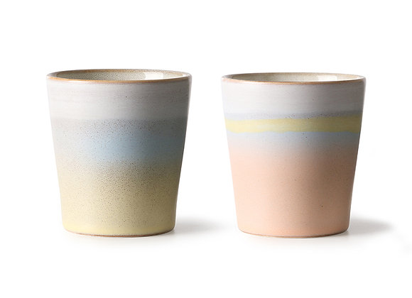 Mugs horizon (set of 2)