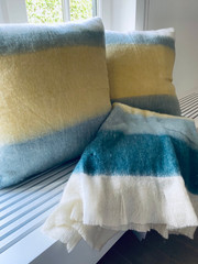 Mohair Plaid & Cushions
