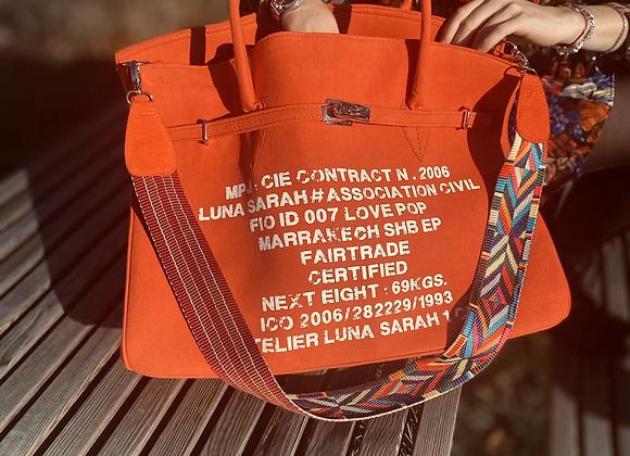 Weekend bag Orange