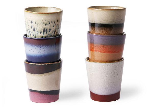 Coffee mugs (set of 6)